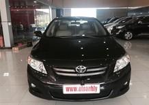 Cần bán gấp Toyota Corolla altis 2011, màu đen, xe gia đình, giá 575tr