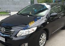 Bán Toyota Corolla năm sản xuất 2010, màu đen số tự động, 650 triệu