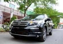 Bán Honda Pilot Elite đời 2016, màu đen, xe nhập