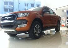 Bán ô tô Ford Ranger 3.2 WILDTRAK 2017 mới, nhập khẩu, màu cam, cam kết giá tốt