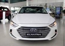 Hyundai Elantra AT đời 2016, hỗ trợ vay vốn ngân hàng 80% giá trị xe, xe mới 100%, 1.6 AT màu trắng, giá 659tr