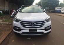 Bán Hyundai Santa Fe Bản Đặc Biệt 2.4 AT máy xăng năm 2016, màu trắng