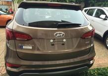 Bán xe Hyundai Santa Fe Bản đặc biệt máy dầu 2.2 AT 2016, màu nâu