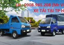 Xe tải nhẹ dưới 1 tấn -750kg-650kg-Động cơ CN Suzuki-Bán xe trả góp