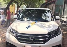 Bán xe Honda CR V 2.4 đời 2014, màu trắng xe đẹp xuất sắc