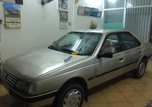 Cần bán lại xe Peugeot 405 GL năm sản xuất 1993, màu vàng, xe nhập