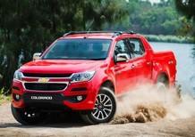 Hot, Chevrolet Colorado chính thức ra mắt phiên bản 2017 với nhiều cải tiến công nghệ vượt trội