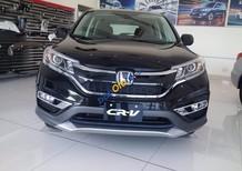 Honda CR-V 2.4L AT màu đen - trả góp lãi suất thấp