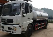 Xe tec chở xăng dầu 11m3- 3 khoang độc lập, giá rẻ nhất toàn quốc