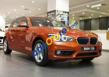 Bán xe BMW 1 Series 118i 2016, màu vàng, nhập khẩu chính hãng