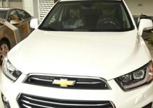 Bán ô tô Chevrolet Captiva 2016, màu trắng alo để được giá cạnh tranh, hỗ trợ vay tối đa