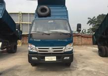 Giá Xe Ben 5 tấn thaco Trường Hải mới nâng tải 2017 tại Hà Nội