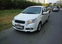 Cần bán Chevrolet Aveo đời 2015, màu trắng