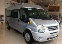Cần bán Ford Transit Medium năm sản xuất 2016, màu bạc
