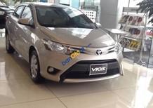 Bán ô tô Toyota Vios G đời 2017, màu ghi vàng, giao xe nhanh tại Vinh