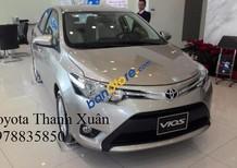 Bán Toyota Vios 1.5E năm 2016, màu bạc