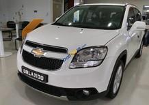 Cần bán xe Chevrolet Orlando sản xuất 2016, màu trắng