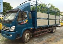 Bán xe Thaco Ollin 2016, màu xanh lam, Ollin 800A tải trọng 8 tấn, bán trả góp