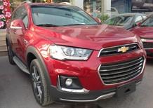 Cần bán xe Chevrolet Captiva REVV sản xuất 2017, màu đỏ, nhập khẩu nguyên chiếc