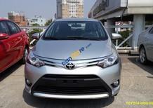 Bán Toyota Vios 1.5G sản xuất 2016, màu bạc, giá chỉ 599 triệu