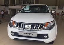 Bán ô tô Mitsubishi Triton 2017, màu trắng, nhập khẩu. Liên hệ : Võ Như Hòa : 0917478445