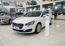 Peugeot Quảng Ninh bán xe Pháp Peugeot 508 trắng - Đối thủ cạnh tranh trực tiếp với Camry 2.5Q, Mercedes C200