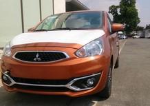 Bán Mitsubishi Mirage MT, nhập khẩu nguyên chiếc, mới 100%, màu cam, giá rẻ 350 triệu - LH: Đông Anh 0931911444