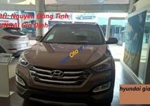 Bán xe Hyundai Santa Fe 2.2L Full đời 2016, màu nâu giá cạnh tranh tại TPHCM