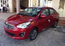 Bán Mitsubishi Attrage CVT 2018, màu đỏ, nhập khẩu Thái, trả góp, giao ngay, 460 tr - LH 0911373343