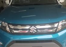 Bán ô tô Suzuki Vitara 2017, màu xanh nóc trắng,, nhập khẩu châu Âu, hỗ trợ trả góp lên đến 100% giá trị xe