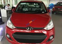Bán xe Hyundai Grand i10 1.0 AT đời 2017 màu đỏ nhập khẩu, hỗ trợ vay vốn 80% GT xe, hotline 0935904141 0948945599