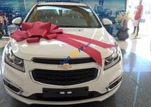 Chevrolet Cruze phiên bản mới khuyến mãi lớn, hỗ trợ 100% ngân hàng lãi suất 0% trong 6 tháng. Alo ngay nhận giá sốc