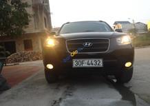 Bán xe Hyundai Santa Fe năm sản xuất 2007, màu đen, nhập khẩu