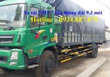 Bán xe tải Cửu Long TMT 8 tấn, thùng dài 9.3 mét - xe tải TMT 8 tấn (8T), thùng dài 9.3m
