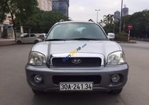 Cần bán lại xe Hyundai Santa Fe Gold 2.0AT năm 2004, màu bạc