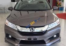 Honda Mỹ Đình - Bán Honda City 1.5 CVT màu titan đời 2017 giá tốt nhiều ưu đãi - Lh: 0978776360