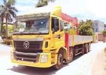 Xe cẩu tự hành THACO AUMAN gắn cẩu 15 tấn kanglim 6 đốt