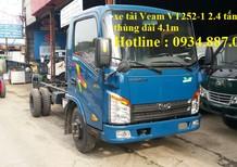 Bán xe tải veam vt252-1 2T4 thùng dài 4.1m - veam hyundai 2.4 tấn (2t4) thùng dài 4.1m