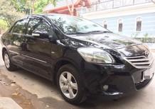 Cần bán gấp Toyota Vios E 2009, màu đen chính chủ Hà Nội, giá 278tr
