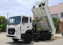 Gía xe ben Hyundai HD270 15 tấn. Bán xe tải tự đổ Hyundai HD270 (6x4) thùng ben 10m3