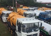 Xe hút thải, hút bùn Dongfeng 10m3- nhập khẩu- hàng giao ngay chỉ 785tr