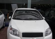 Cần bán Chevrolet Aveo LT 1.4 mẫu 2017, NH cho vay 90% 2017, màu trắng