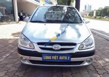 Cần bán Hyundai Getz MT sản xuất năm 2010, màu bạc