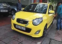 Xe Kia Morning SX sản xuất 2011, màu vàng