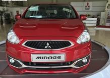Mitsubishi Mirage mới 2019, màu đỏ, nhập khẩu, giá 350tr, giá cực sốc nhất Đà Nẵng