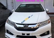 Cần bán Honda City 1.5 CVT đời 2017, màu trắng khuyến đặc biệt duy nhất ở Quảng Bình