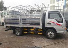 Quảng Ninh bán xe tải 2 tấn, 2,4 tấn máy ISUZU, nâng tải, thùng dài 3,7 m 327 triệu