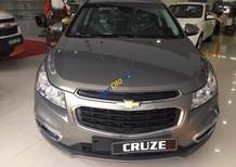 Chevrolet Cruze LT 2017 - Nâu Hoàng Kim, hỗ trợ vay tối đa giá trị xe