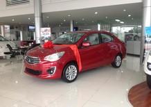 Cần bán Mitsubishi Attrage đời 2017 màu đỏ, nhập khẩu chính hãng,