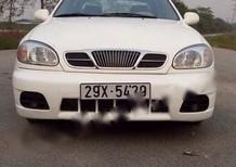 Bán Daewoo Lanos SX năm sản xuất 2005, màu trắng, 135 triệu